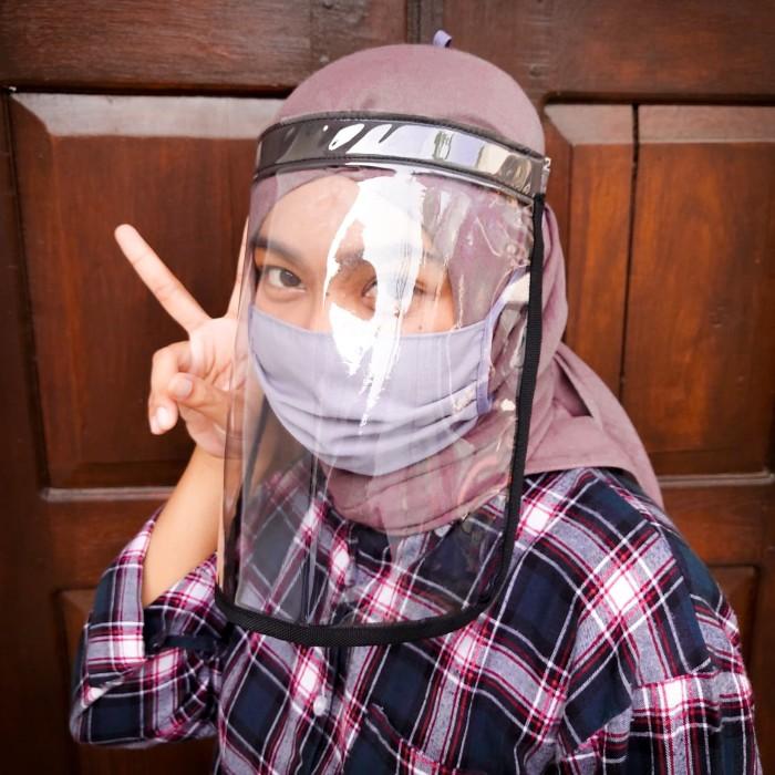 Foto Produk Face Shield Elastis Bisa Dilipat - Hitam dari bukatoko_online