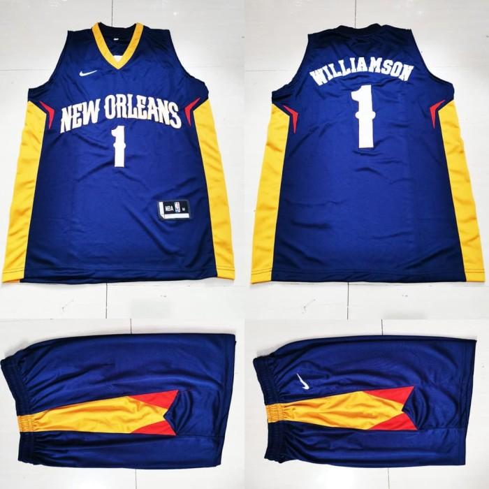 Jual Jersey Basket Stelan Zion Williamson New Orleans Pelicans Jakarta Utara Sans Homes Tokopedia