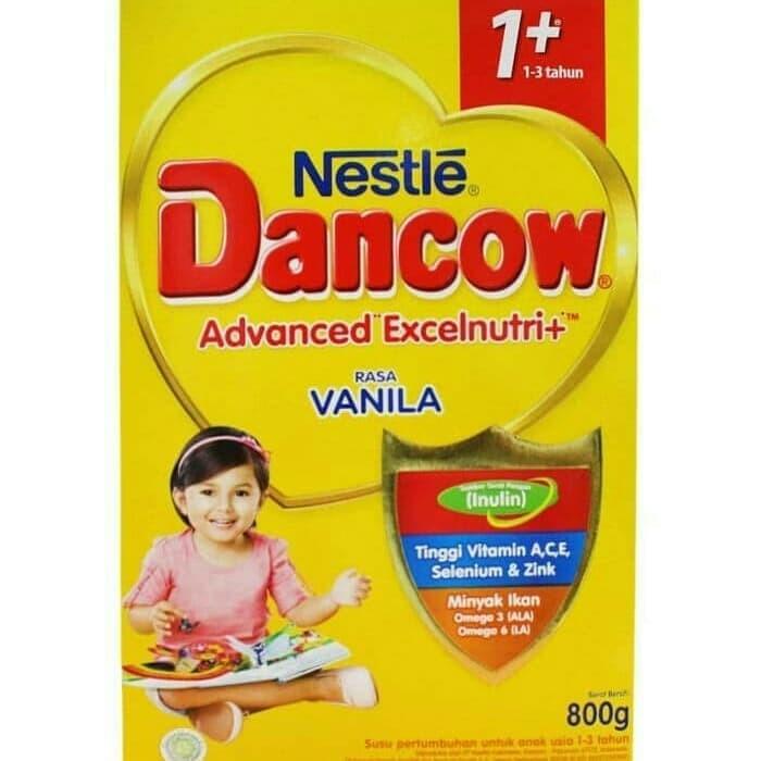 Foto Produk Dancow 1+ (1-3 tahun) rasa Vanila 800 gram dari Jforteenshop