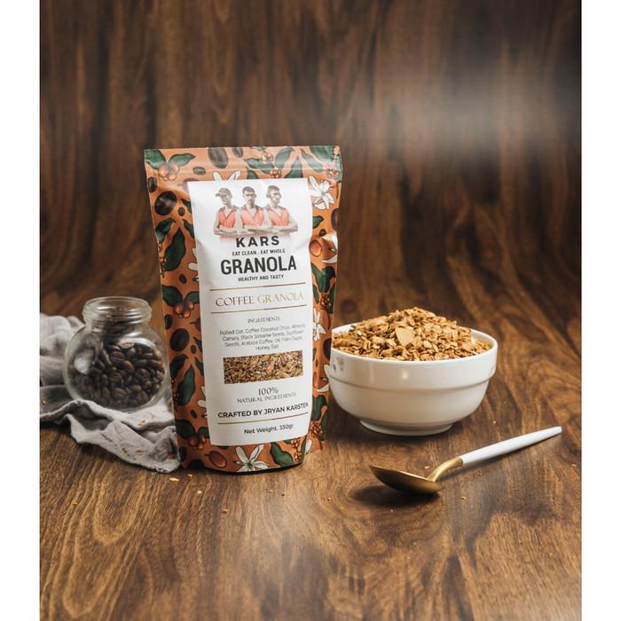 Foto Produk Kars Coffee Granola 350 gram - 100% Natural Ingredients dari Karuna Holistic Wellness