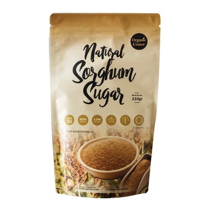 Foto Produk Organic Center - Gula Sorghum 250 gram - Gula Alami dari Karuna Holistic Wellness