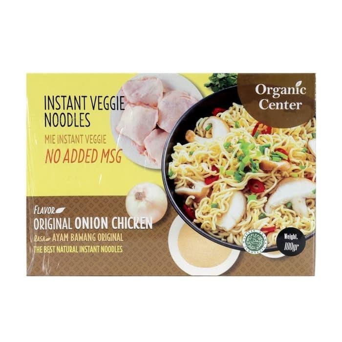 Foto Produk Organic Center Mie Instant Ayam Bawang Original 100gr - NO ADDED MSG dari Karuna Holistic Wellness