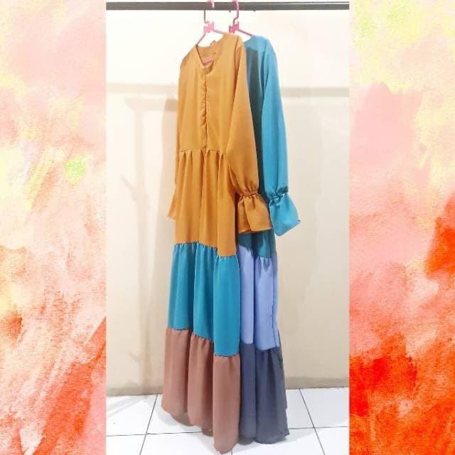 Jual Baju Muslim Wanita Baju Gamis Remaja Jakarta Barat Supplier Import Murah Tokopedia