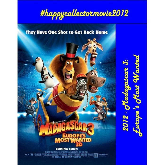 Jual Dvd Madagascar 3 Europe S Most Wanted 2012 Jakarta Selatan Happyc Shop Tokopedia