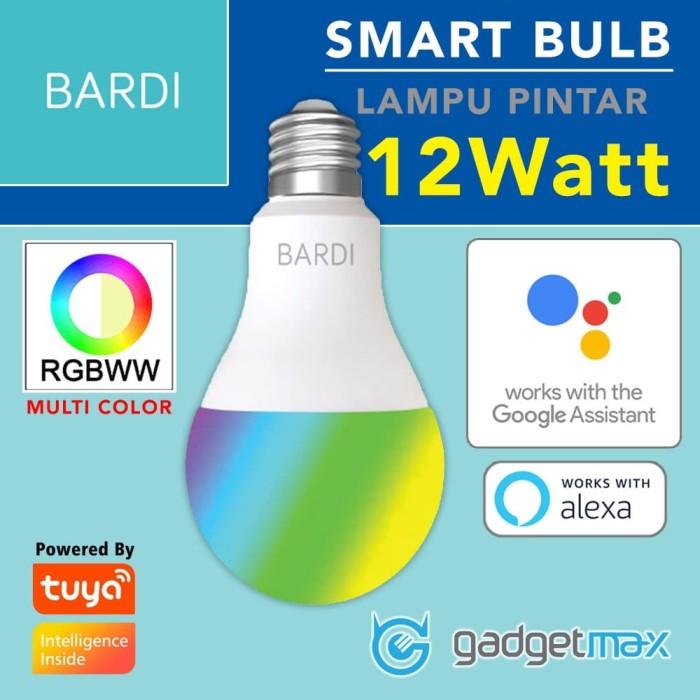 Foto Produk SMART LGIHT BARDI Lampu Pintar Multi Color 12Watt Support Google Home dari Gadgetmax.net