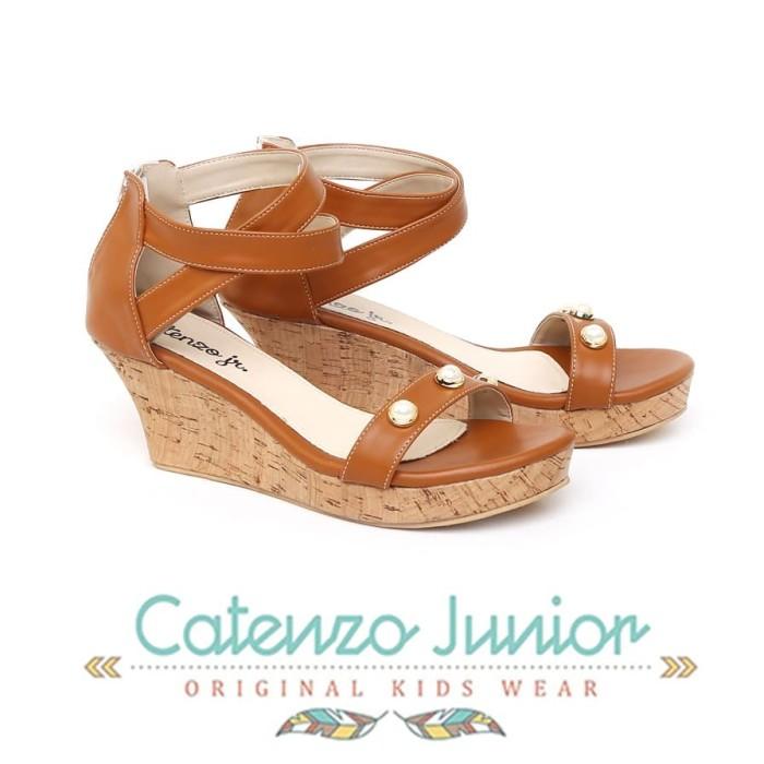 Foto Produk Sandal Wedges Anak Perempuan Sendal Tali Catenzo CNR026 dari dralapak