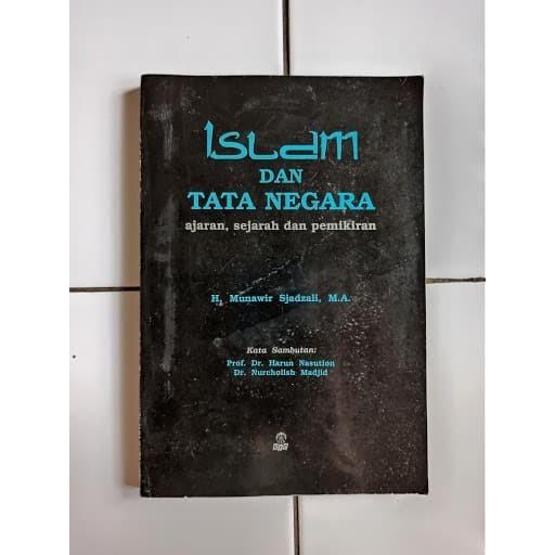 Foto Produk Buku Bekas Islam dan Tata Negara Ajaran Sejarah dan Pemikiran dari Toko Buku Bekas Aksiku