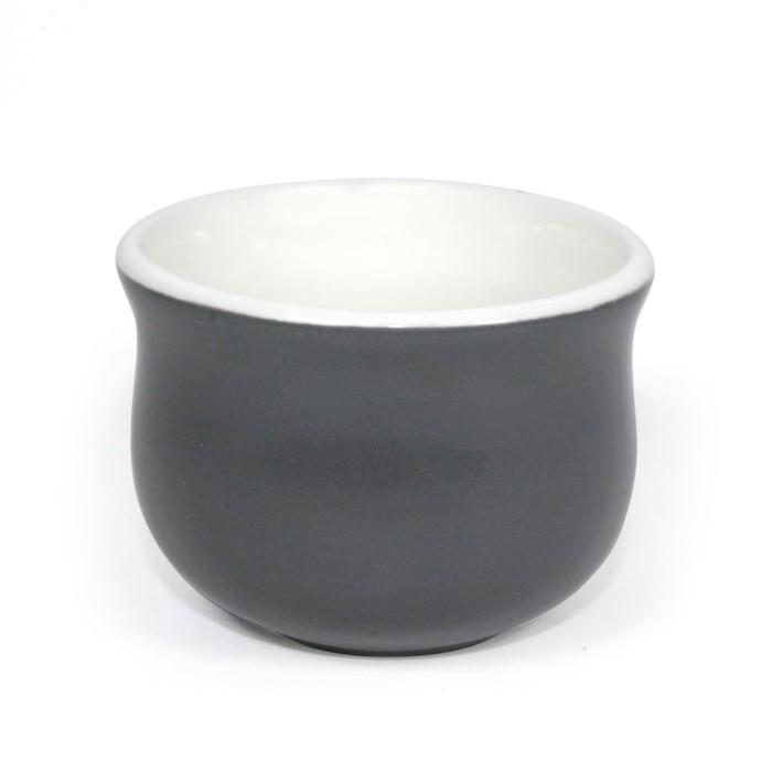 Foto Produk Artisan Ceramic   Grey Gloss Cup Poci  Gelas Poci Keramik dari Artisan Ceramic