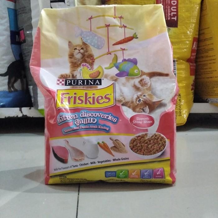 Jual Promo Makanan Kucing Friskies Kitten Discoveries 1 1kg Whiskas Meo Kab Bogor Petshop Cibinong Tokopedia