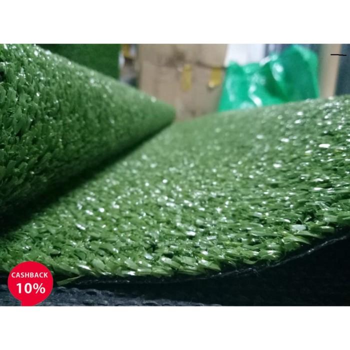 Foto Produk Karpet Rumput Sintetis Swiss - Rumput Jepang 100x100 tebal 7mm dari Fantasy Bath Fashion