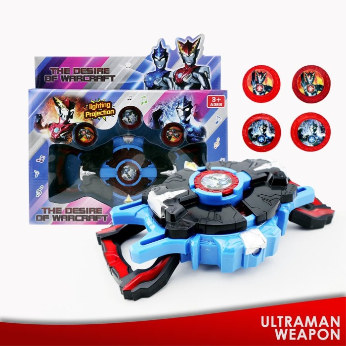Foto Produk GM - Mainan Anak Super Hero Ultraman R/B DX R/B The Desire of Warcraft dari GudangMainan788