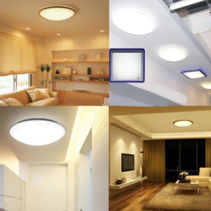 Jual 5730 Led Panel Circle Annular Ceiling Light Fixture Board Lamp Plate Jakarta Barat Pandahouse Id Tokopedia