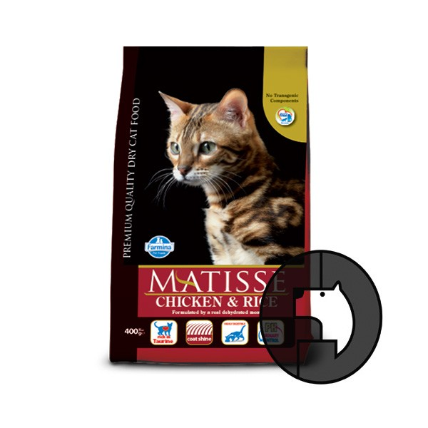 Foto Produk EXP 22 JUL 20 matisse 1.5 kg cat chicken and rice dari F.J. Pet Shop