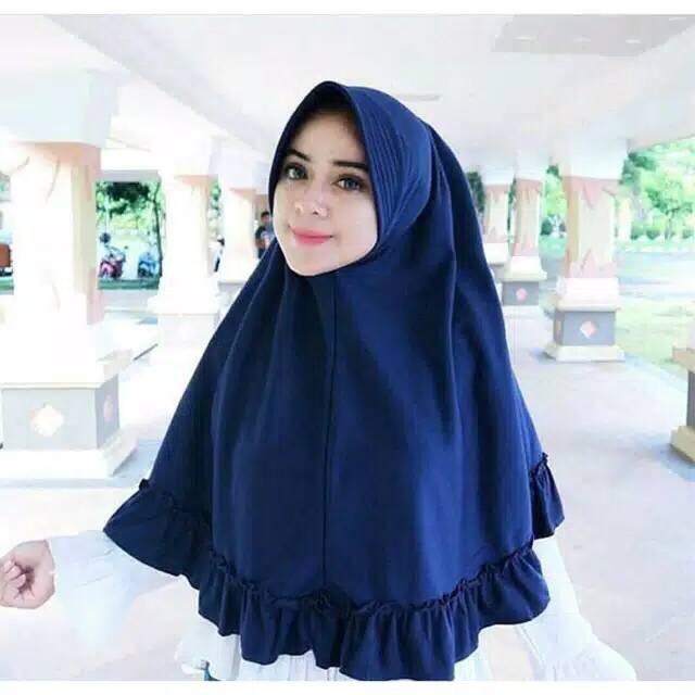 Jual Hijab Jilbab Instan Khimar Pet Rempel Kriwil Khimar Rempel Kriwil Kab Semarang Aureli Jaya Tokopedia