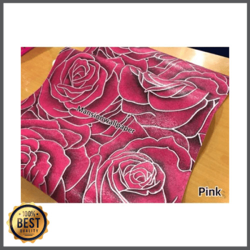 Jual Unik Wallpaper Dinding Bunga Mawar Merah Pink Besar Elegan Limited Jakarta Utara Nicky Melani044 Tokopedia