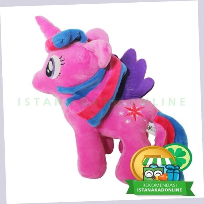Jual Boneka My Little Pony Kuda Poni Twilight S 13 Inch Ungu Tc Cantik Jakarta Pusat Boneka Q Tokopedia