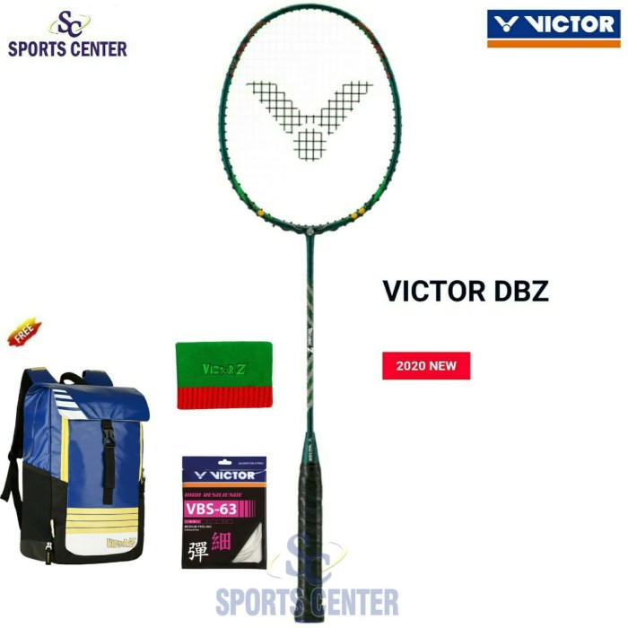 Foto Produk Limited Edition Raket Badminton Victor Dragon Ball DBZ Series dari Sports Center