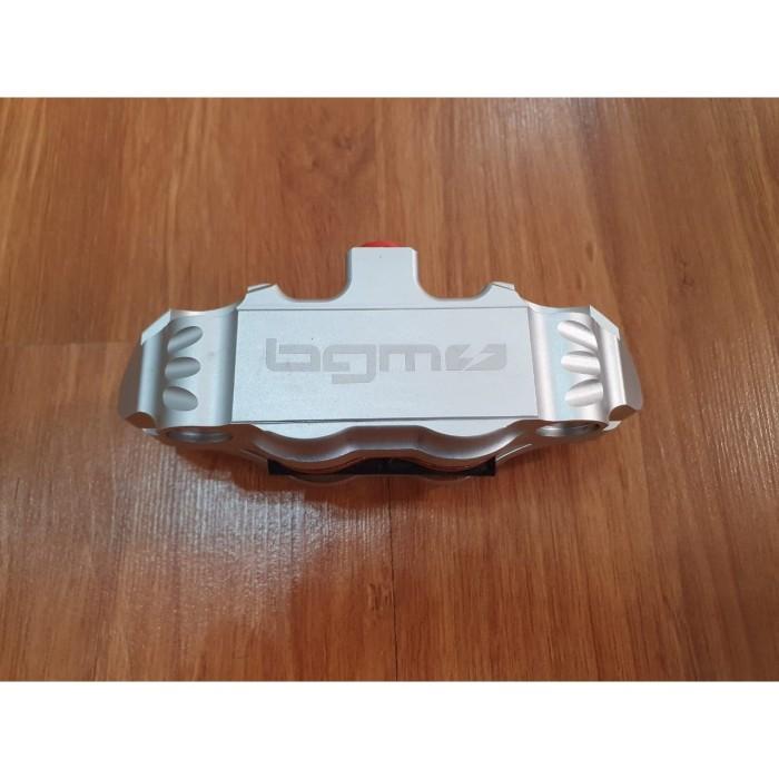 Foto Produk BGM Radial Caliper 4 piston silver dari Gaya Motor Baru