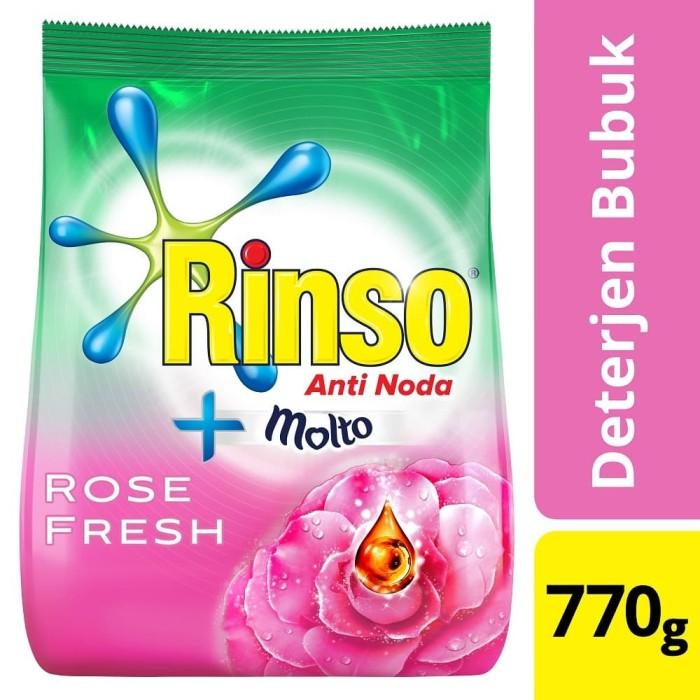 Foto Produk Rinso Molto Deterjen Bubuk Rose Fresh 770G dari Unilever Official Store
