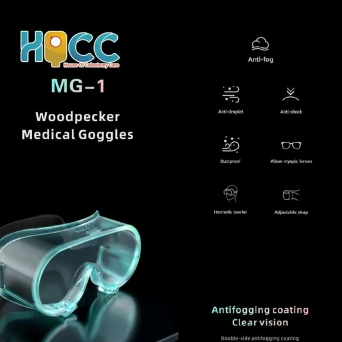 Foto Produk Kacamata Goggle Safety Medis dari House of Colostomy Care