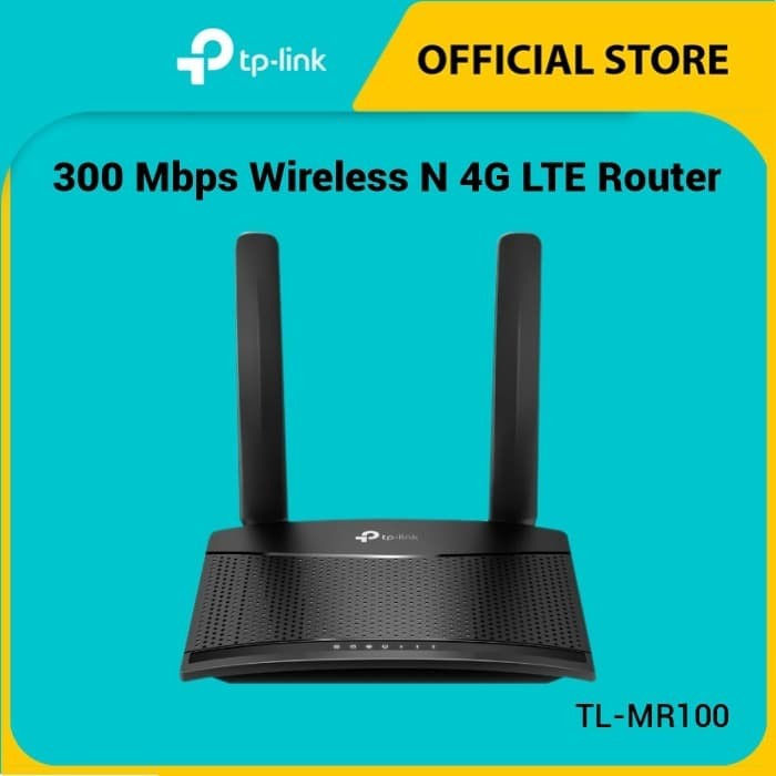 Foto Produk TL-MR100 300 Mbps Wireless N 4G LTE Router dari TP-Link Official