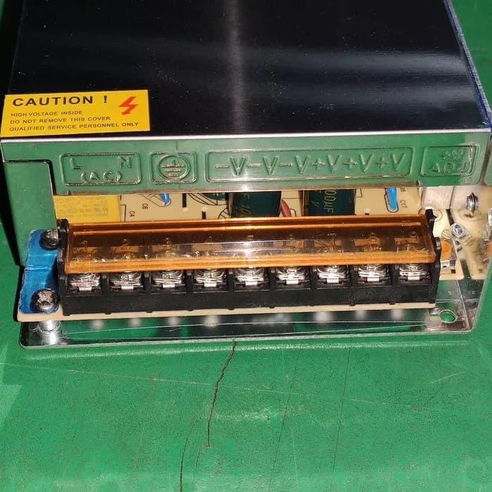 Foto Produk power supply 24 volt 10 amper 240W kipas dari sinar led