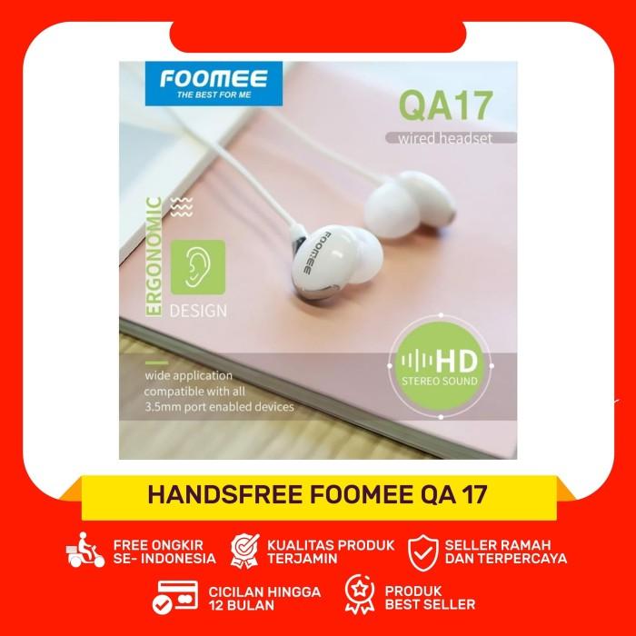 Foto Produk Foomee QA17 Wired Headset dari Gadget Mart BJM