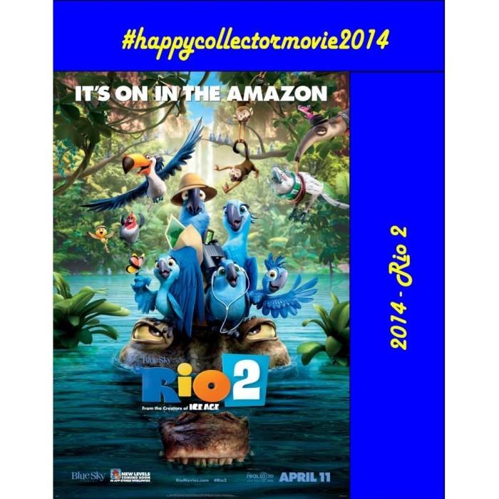 Jual Dvd Rio 2 2014 Jakarta Selatan Happyc Shop Tokopedia