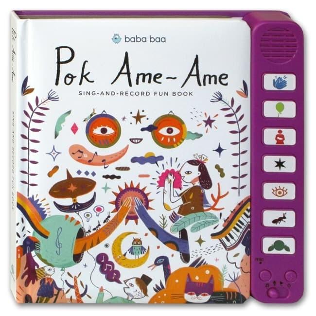 Foto Produk Pok Ame-Ame Sing-and-Record Fun Book (7 lagu anak Bahasa Indonesia) dari HappyBunnyBooks