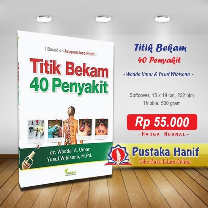 Foto Produk Buku Titik Bekam 40 Penyakit dari Pustaka Hanif