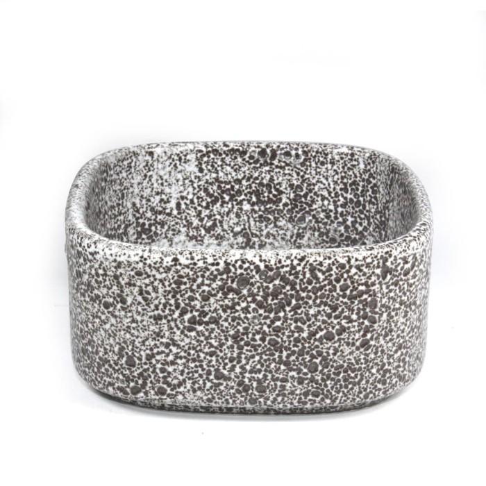 Foto Produk Artisan Ceramic | Rock Square Bowl | Mangkok Kotak Keramik dari Artisan Ceramic