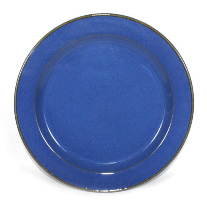 Foto Produk Artisan Ceramic | Rea Blue Dinner Plate | Piring Keramik dari Artisan Ceramic