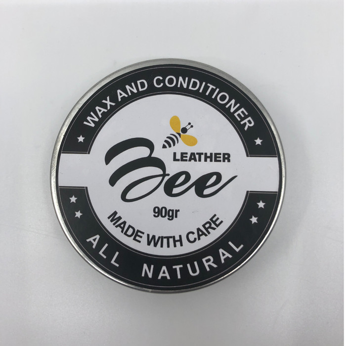 Foto Produk LeatherBee All Natural Leather Conditioner and Wax [net: 90 gram] dari Virelai's Shop