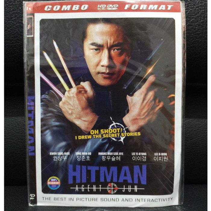 Jual Kaset Dvd Film Movie Korea Hitman 1 Disc End Jakarta Utara Bli Yu Tokopedia