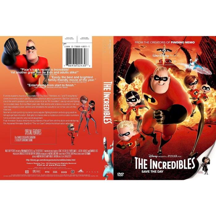 Jual Dvd Film Animasi The Incredibles 2004 Gratis 1 Jakarta Barat Laris Jaya Glodok Tokopedia