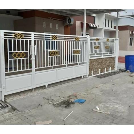 Jual Pagar Rumah Minimalis Pagar Rumah Variasi Pagar Rumah Besi Murah -  Hitam - Kab. Bandung Barat - Toko Las Bandung Barat | Tokopedia