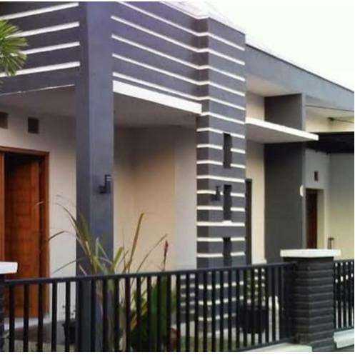 Jual Pagar Rumah Minimalis Pagar Rumah Murah Pagar Rumah Besi Simple Putih Kab Bandung Barat Toko Las Bandung Barat Tokopedia