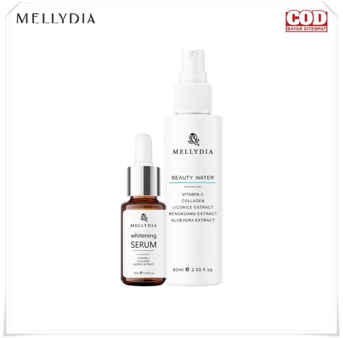 Foto Produk Mellydia Glowing Essentials Paket Penghilang Flek Hitam dari Look The Beauty Official