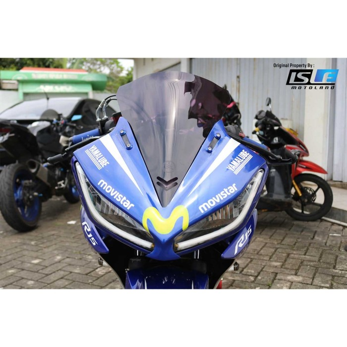 Foto Produk Windshield Yamaha R15 V2 Bubble Generic dari Candi Motor