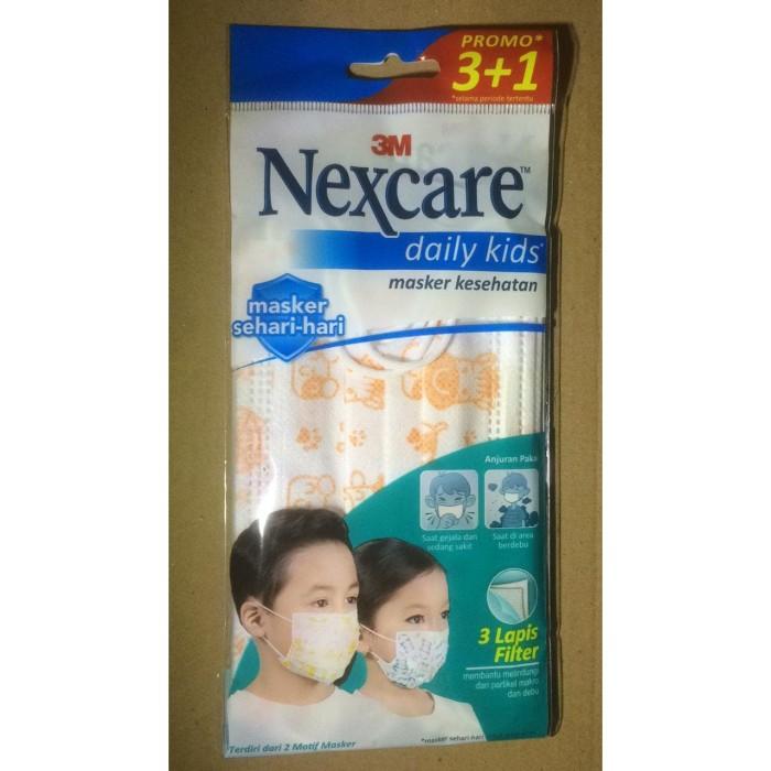 Foto Produk Masker 3M Nexcare Daily Kids isi 4 dari LuckySaint