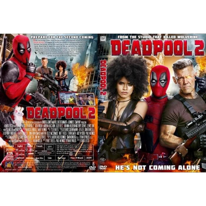 Jual Dvd Film Action Deadpool 2 2018 Jakarta Barat Glodok Dvd Tokopedia