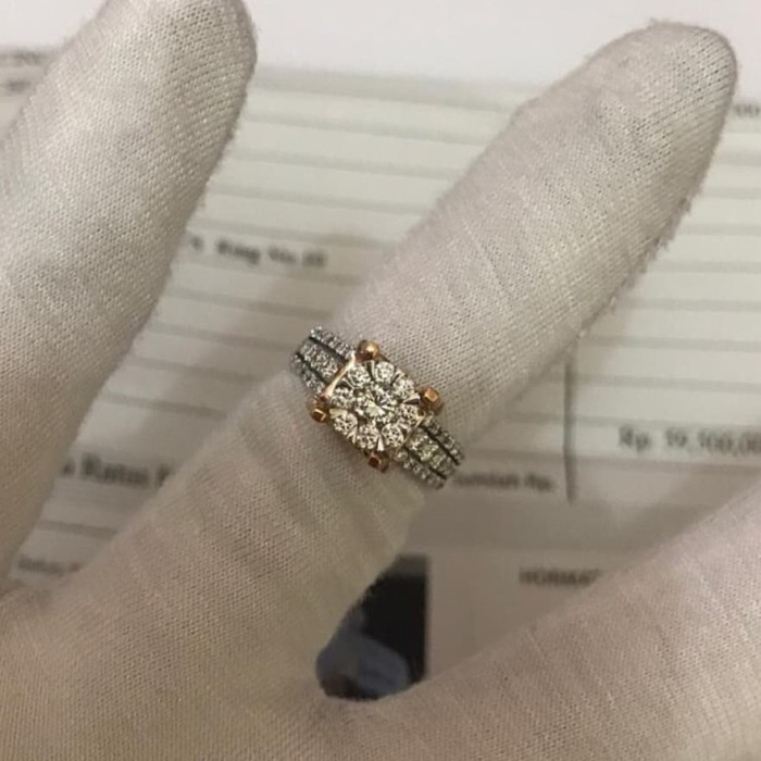 Foto Produk Diamond ring 0.890 CT (F VVS) dari IndoWebstorecom