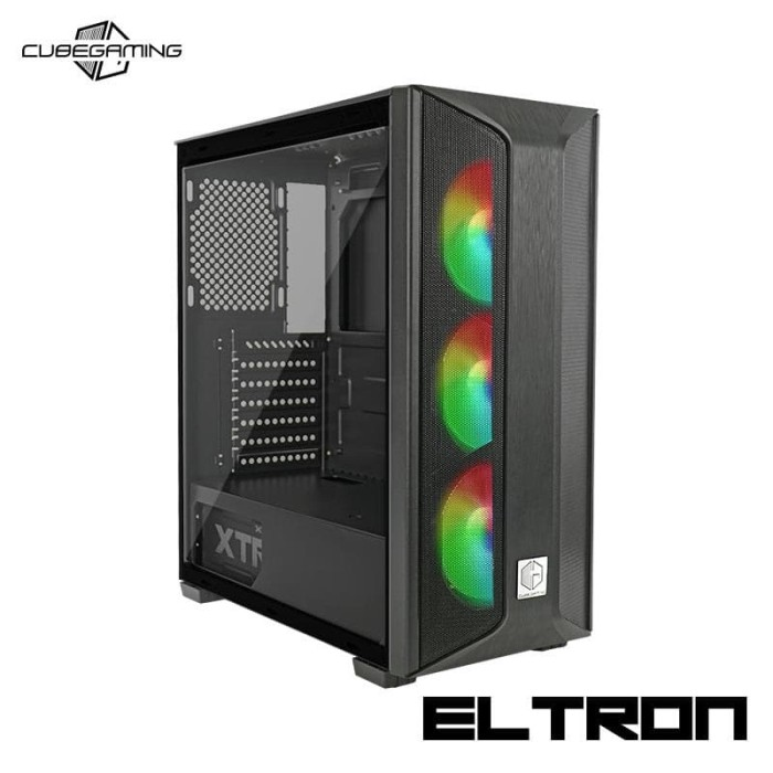 Jual Casing Cube Gaming Eltron Free 3pcs 12cm Autoflow Rainbow Rgb Fan Kota Makassar Ir Computer Tokopedia