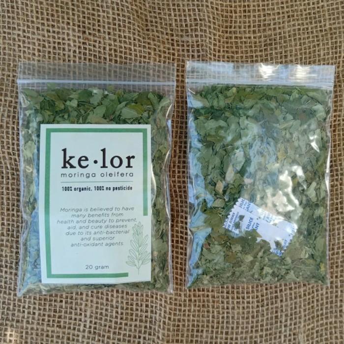 Foto Produk Premium Organik Daun Kelor Kering 20 gram (Bebas Pestisida) dari Radja Doepa