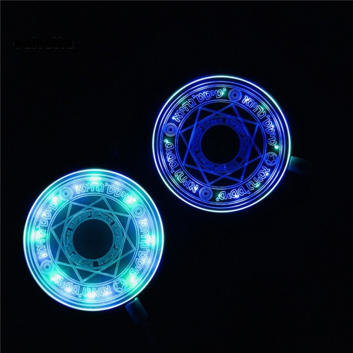 Foto Produk ✡ CDX ✡ 10W Qi Pad Charger Wireless LED Glow In The Dark untuk dari myeshaa online shop