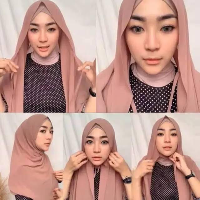 Jual Pasmina Diamond Tali Best Seller Nissa Sabyan Pasmina Tali Ukuran Kab Semarang Tasuniq Tokopedia