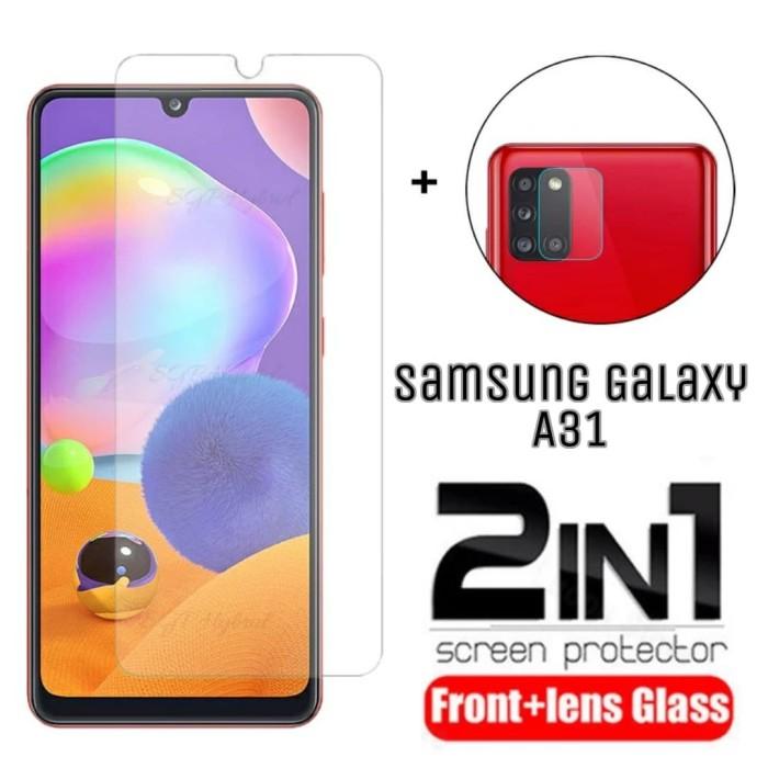 Foto Produk Tempered Glass Samsung A31 - Pelindung Layar Free Tempered Kamera dari FahryOneMore