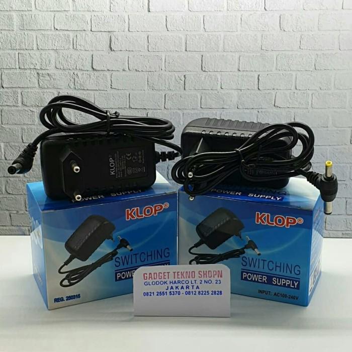 Foto Produk adaptor 9v 1a adaptor 9volt 1a double jack promo dari gadgettekno shopn