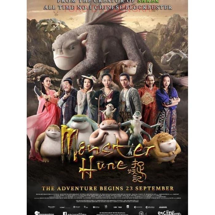 Jual Film Dvd Monster Hunt 2015 Kota Bandung Arneshtri Tokopedia
