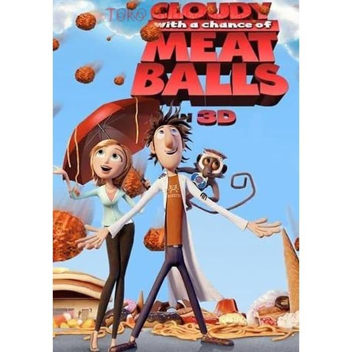 Jual Film Dvd Cloudy With A Chance Of Meatballs 2009 Kota Bandung Arneshtri Tokopedia